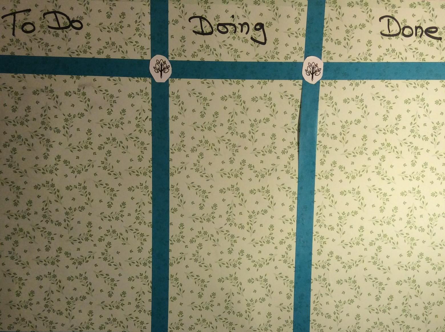 Schreiben mit Flow-Board